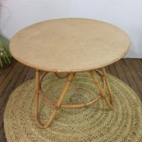 2 table basse en bambou