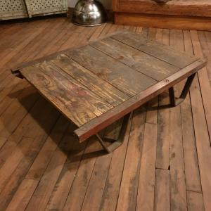2 table basse palette sncf a