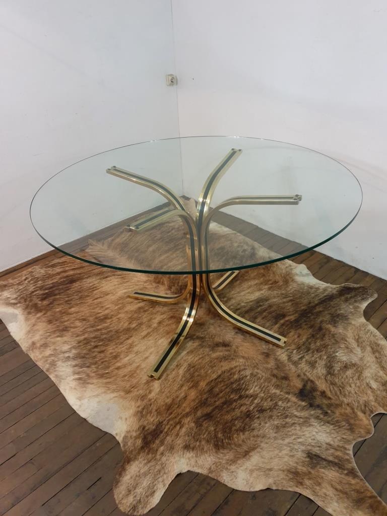 2 table en verre