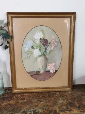 Peinture Bouquet de Pivoines