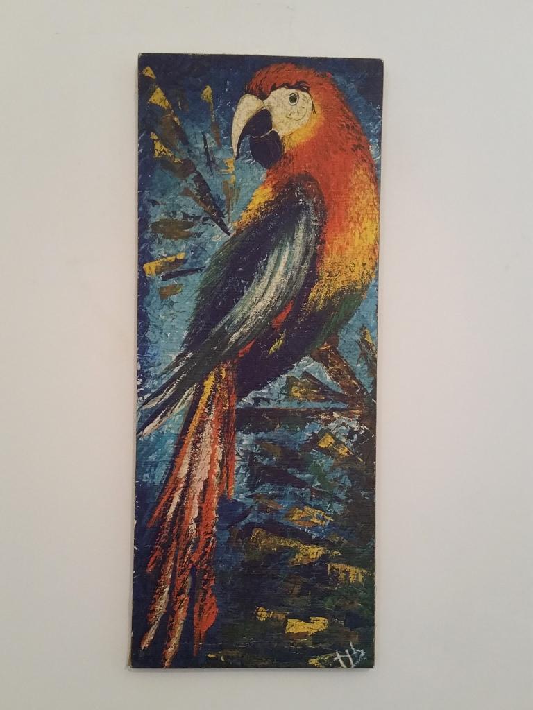 2 tableau perroquet