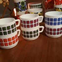 2 tasses a cafe arcopal