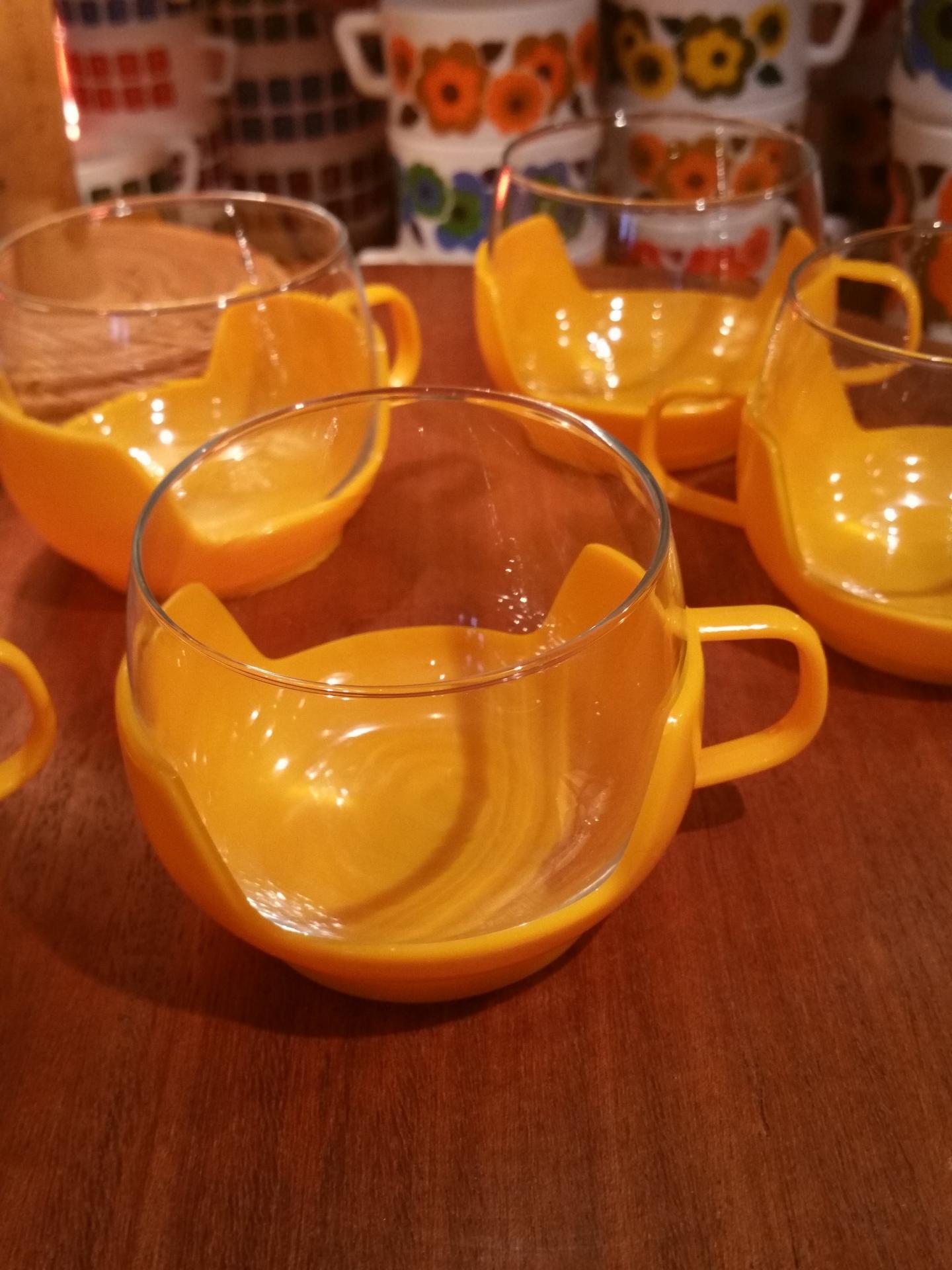 2 tasses jaunes