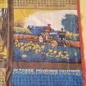 2 torchon calendrier ford