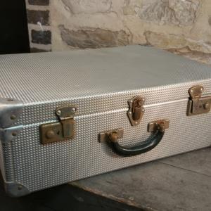 2 valise en alu gauffre