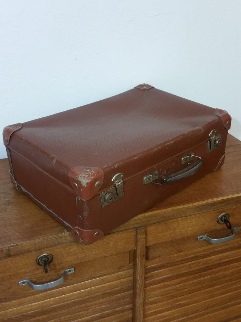 2 valise marron