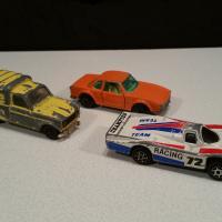 2 voitures majorette