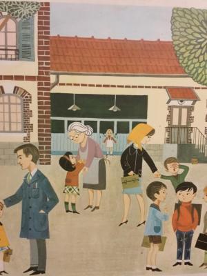 Affiche d'école 1966 - n°1