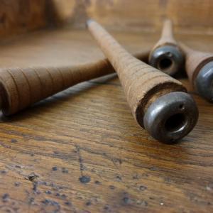 3 3 bobines a fil en bois