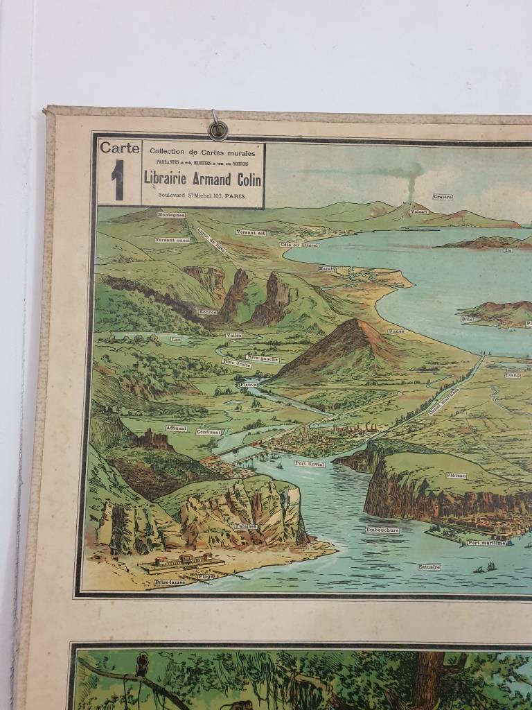 3 affiche d ecole armand colin les region