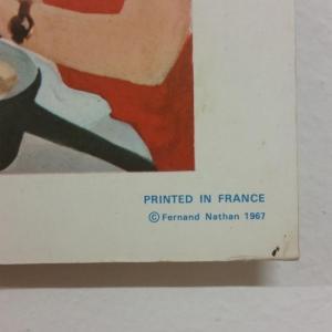 3 affiche scolaire 1967 3 et 4