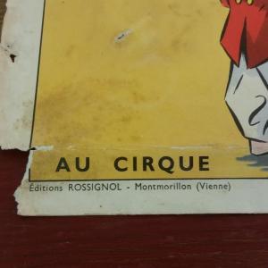 3 affiche scolaire rossignol cirque et averse