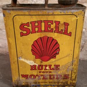 3 bidon huile shell moteurs