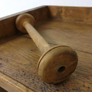 3 bobines en bois
