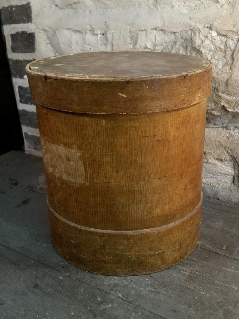 3 boite ronde en bois