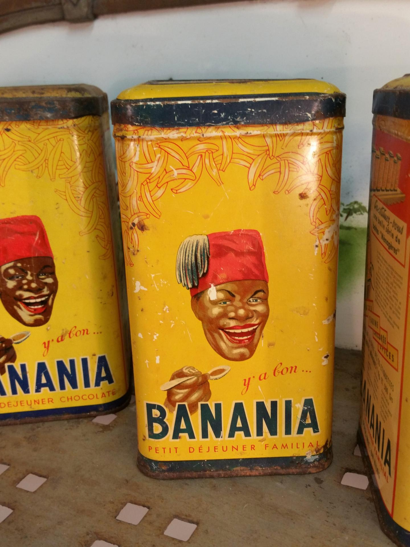 3 boites de banania