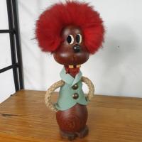 3 bonhomme aux cheveux rouges