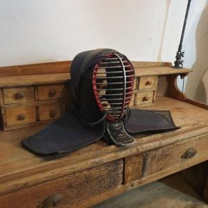 3 casque men armure de kendo