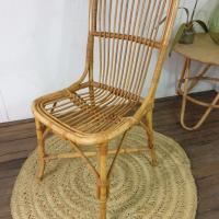 3 chaise en rotin