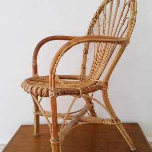 3 chaise osier enfant
