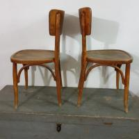 3 chaises bistrot paire 2