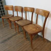 3 chaises bistrot