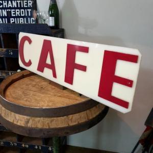 3 enseigne de cafe