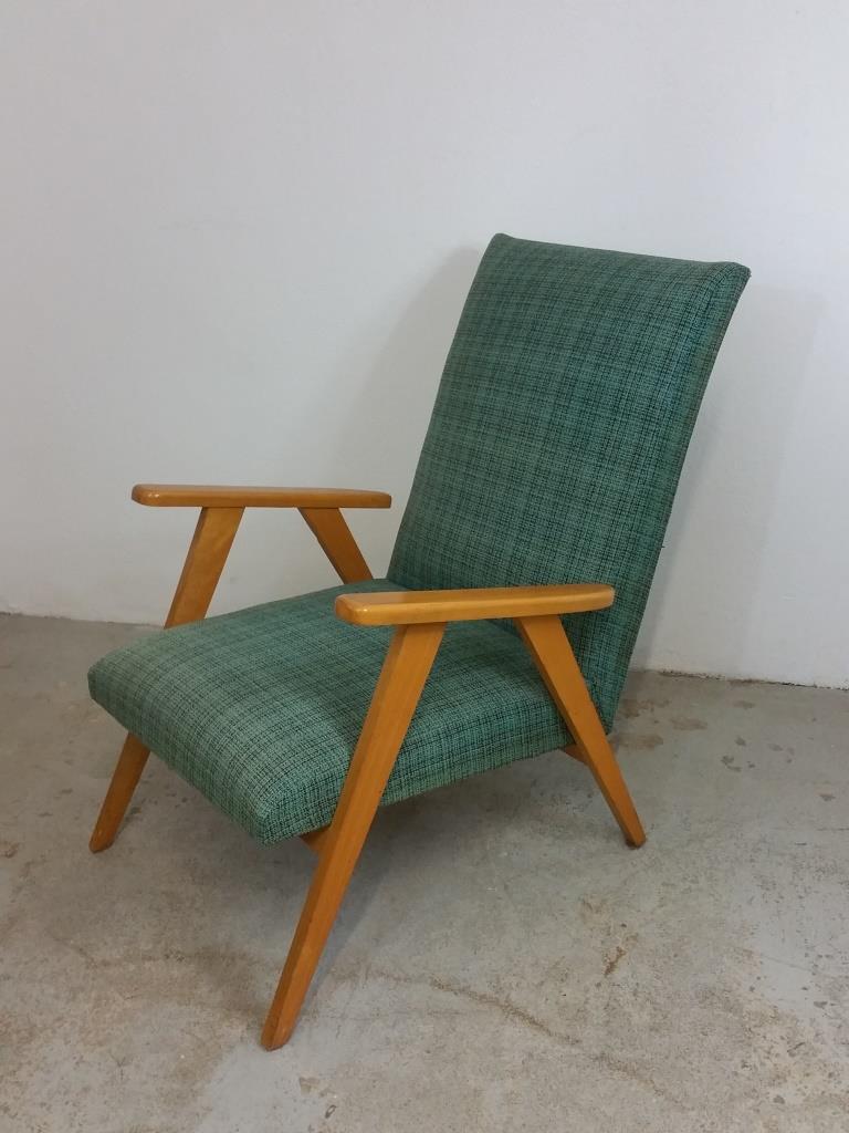 3 fauteuil scandinave vert