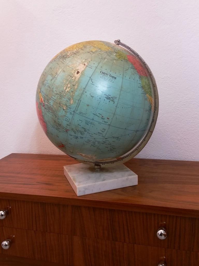 3 globe terrestre lumineux taride