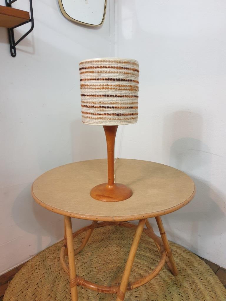 3 lampe bois laine