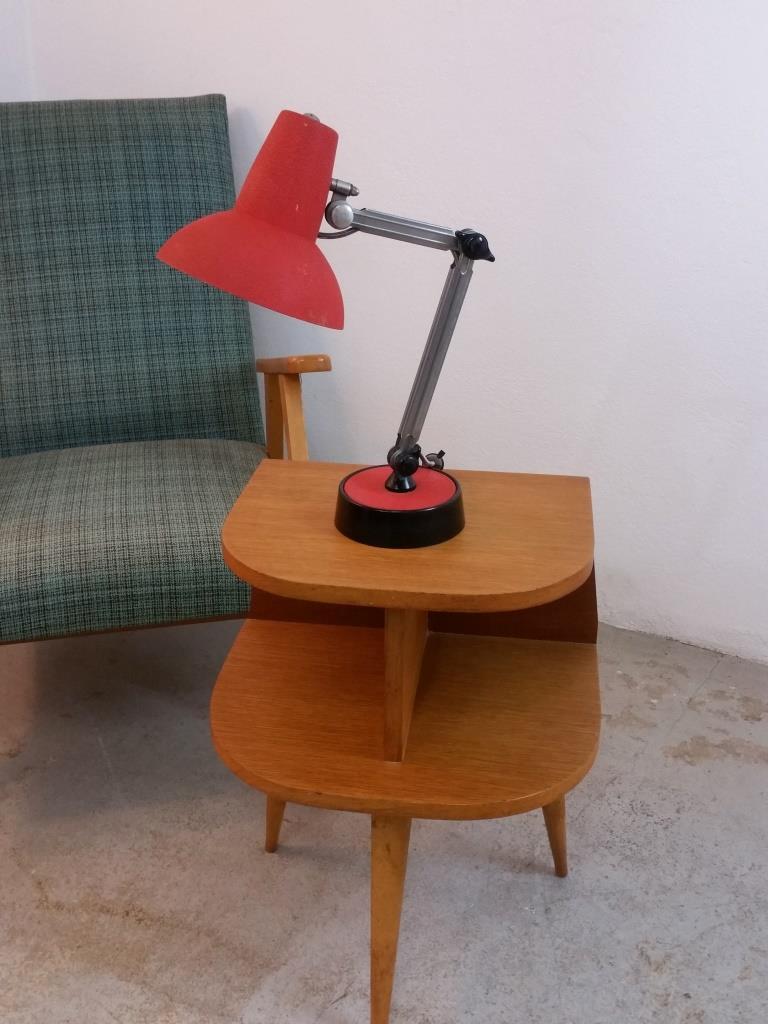 3 lampe de bureau chrome