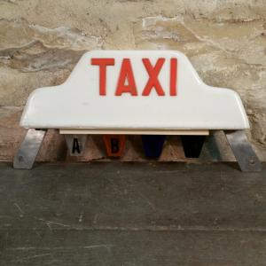 3 lampe taxi