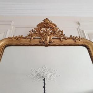 3 miroir dore a fronton