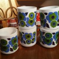 3 mug lotus bleu