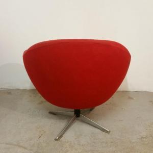 3 paire de fauteuils rouges