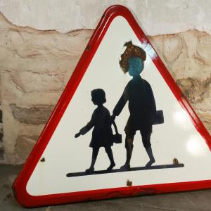 3 panneau signalisation attention ecole