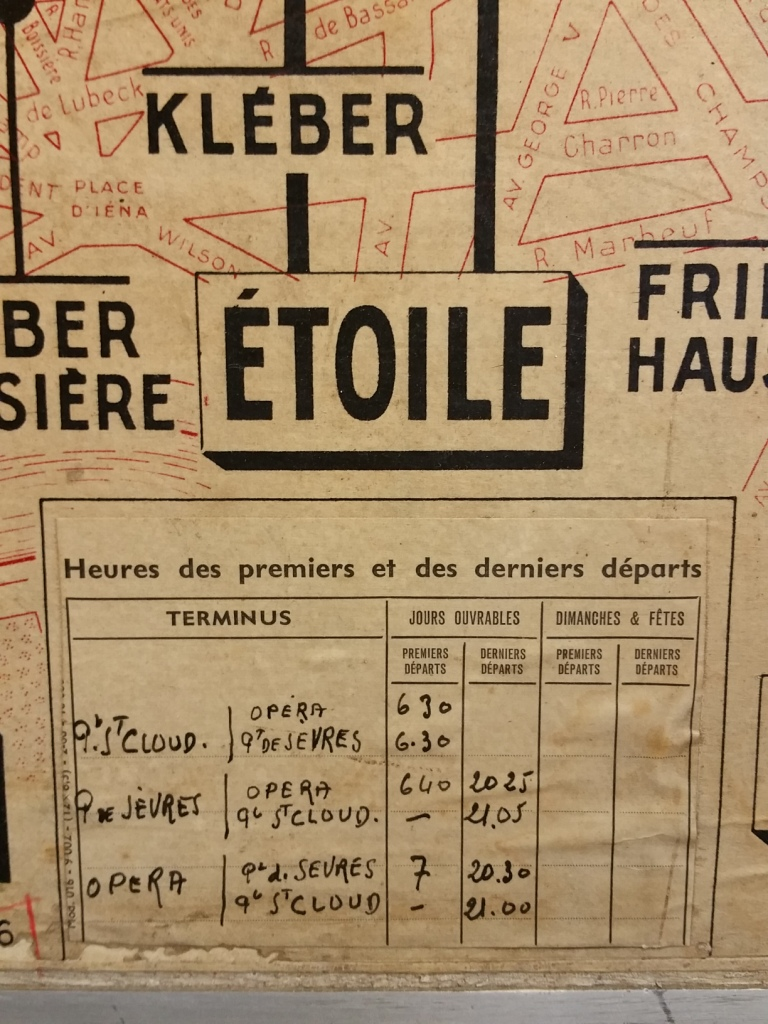 3 plan de ligne de bus de paris