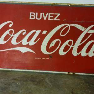 3 plaque coca cola