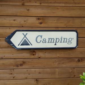 3 plaque de camping