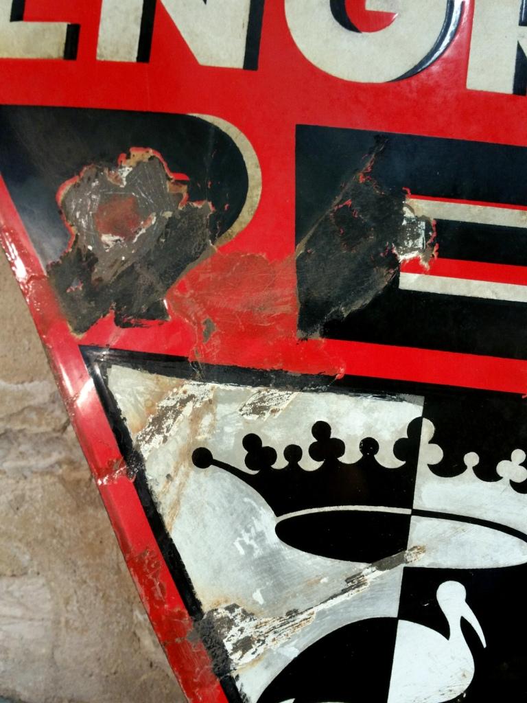 3 plaque emaillee pec