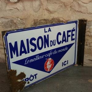 3 plaque maison du cafe