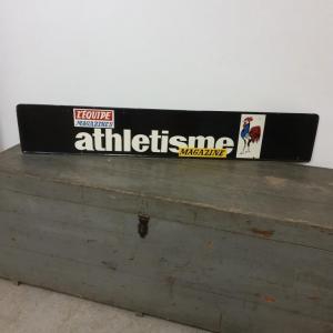 3 plaque publicitaire l equipe