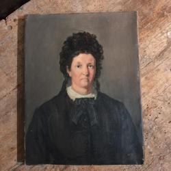 Portrait Femme Victorienne