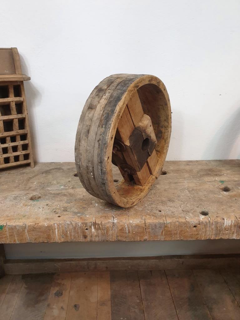 3 poulie bois largeur 10