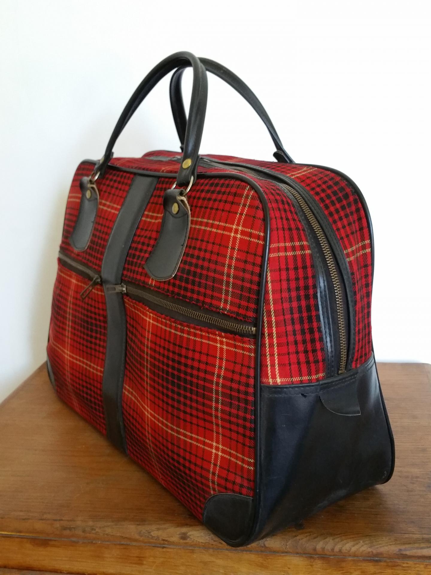 3 sac de voyage ecossais
