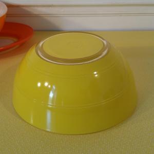 3 saladier duralex jaune