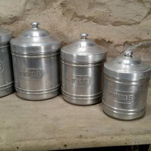3 serie de pots alu