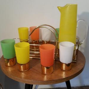 3 service a orangeade 8 verres