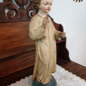 3 statue religieuse enfant
