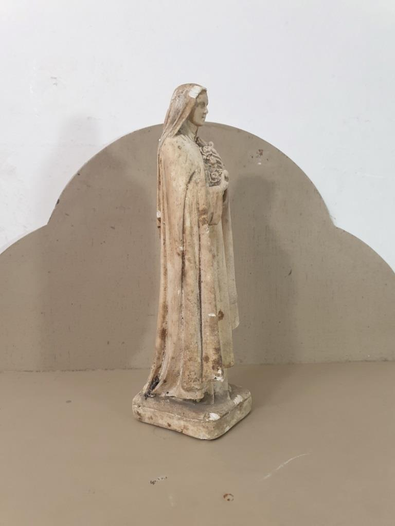 3 statue vierge marie poly